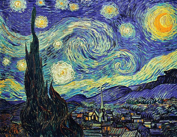 The Starry, Starry Night, Van Gogh & Parkinsons.